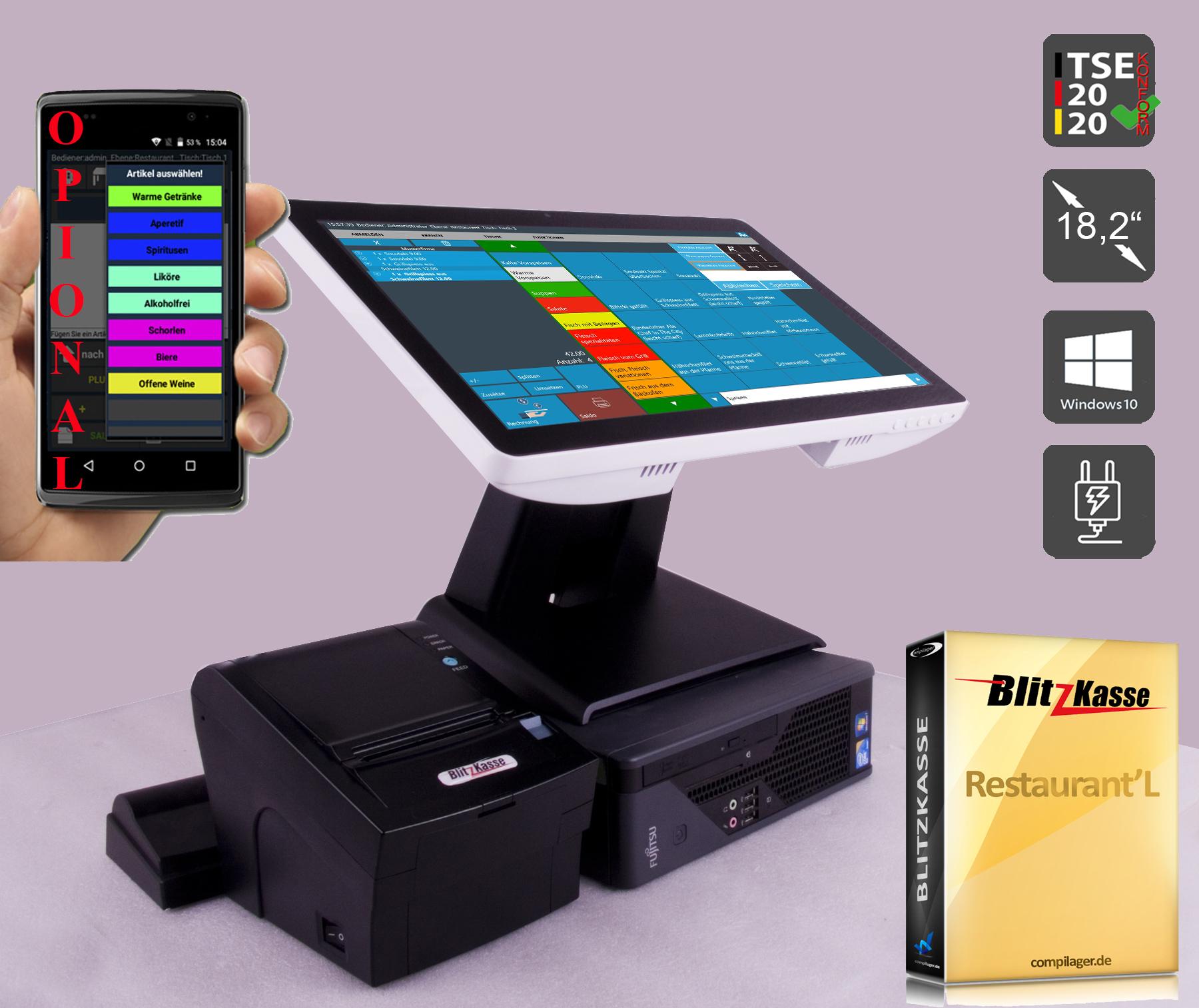 kassensoftware, blitz!kasse, kassensoftware für einzelhandel, kassenprogramm