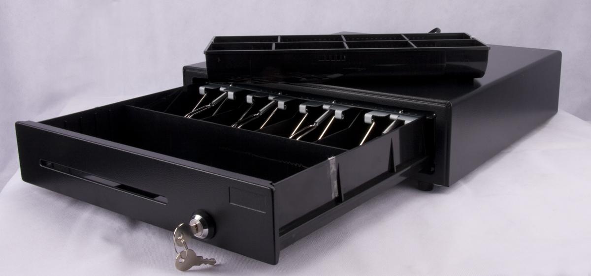 Geldlade, Kassenlade, iQCash 410Z- EPSON, Expresskasse kompatibel.