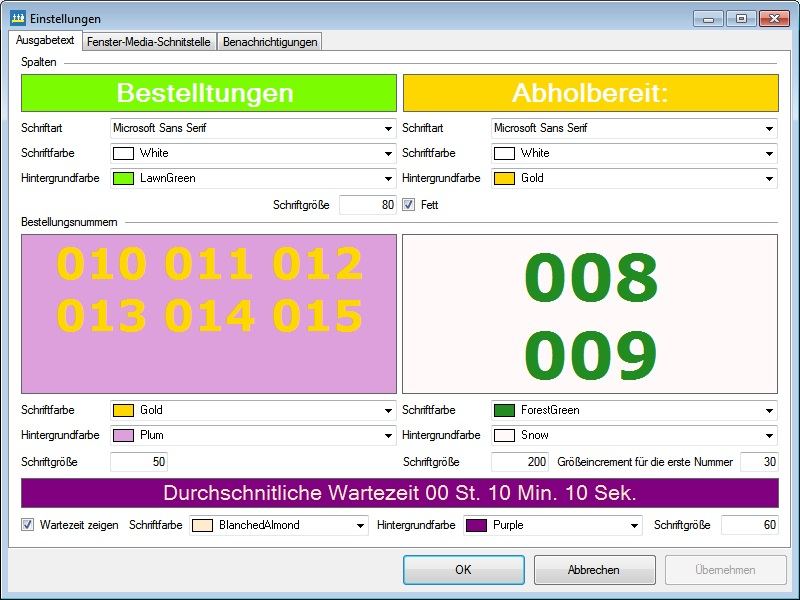 BLITZ!KASSE SelfService Monitor