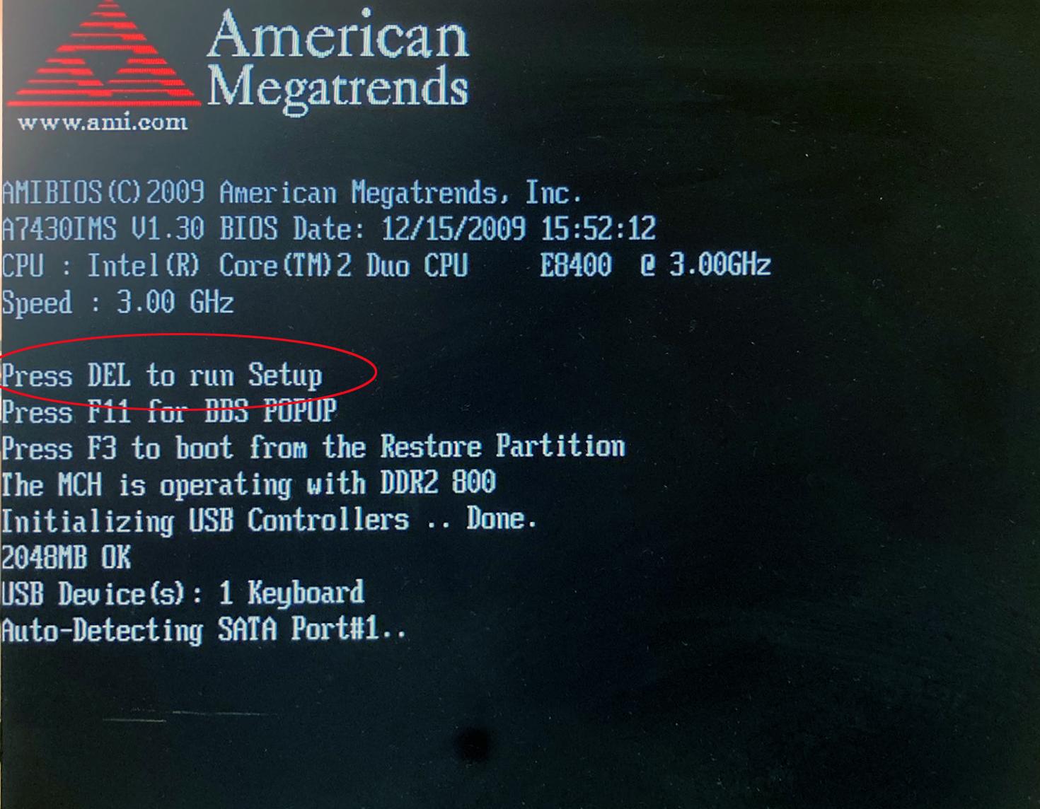 BlitzKasse Kassenrechner BIOS für TSE BOOT Reichenfolge