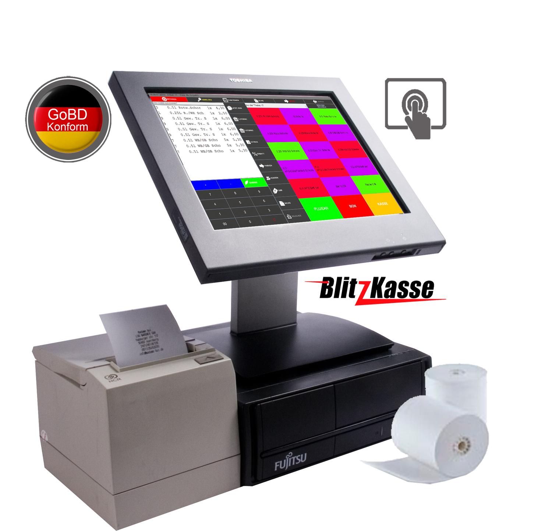 COMPUTERKASSE für SCHNELL-Verkauf.