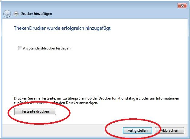 EXPRESSKASSE und Netzwerkdrucker / Bondrucker über Netzwerk. Installationsanweisung.